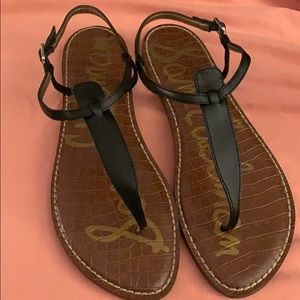 Sam Edelman Gigi True Black Sandal size 12US, 42EU